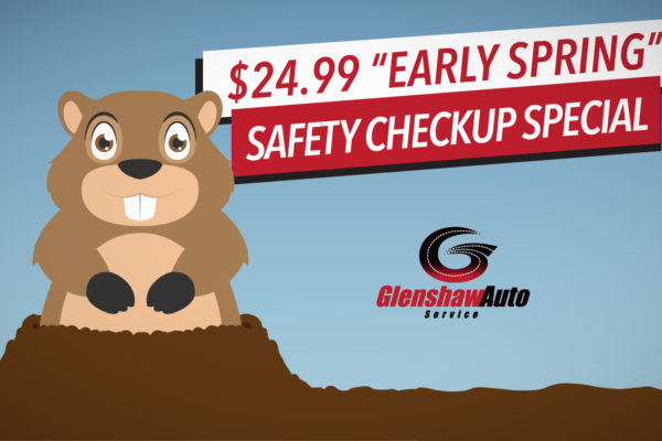 $24.99 Early Spring Offer – The Groundhog Made Us Do It!