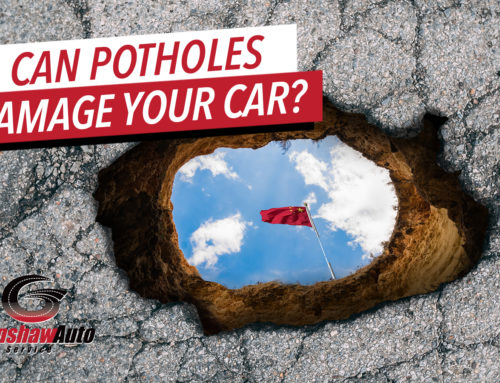 Can Potholes Damage Your Vehicle?