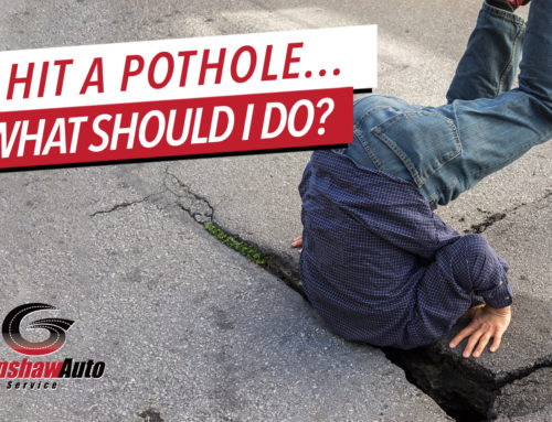 I Hit a Pothole – What Should I Do?