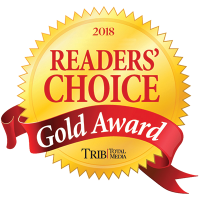 2018 Triblive Readers Choice Route 8 Gold Award