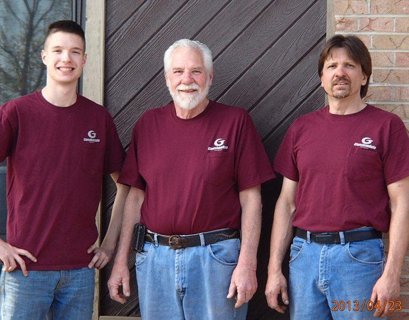 Picture of Sam Concelman Sr, Sam Concelman Jr. and Sam Concelman III