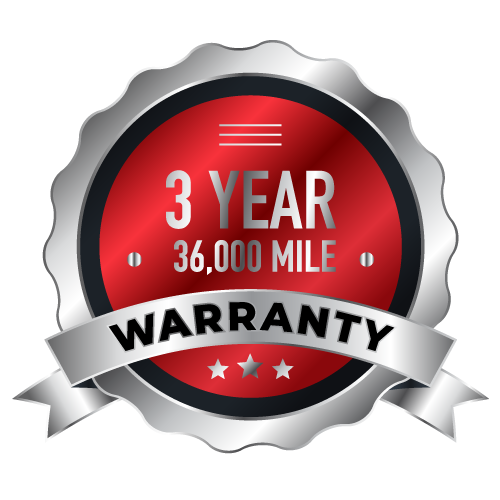 3 year 36,000 Mile Warranty Badge