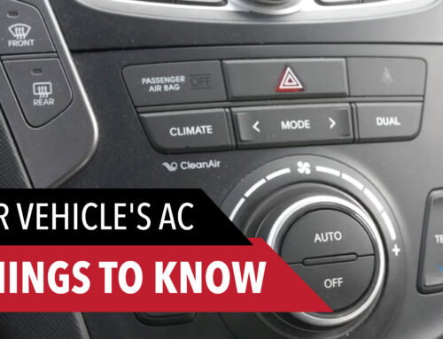 5 Things You Need To Know About Your Vehicle's Air Conditioning System