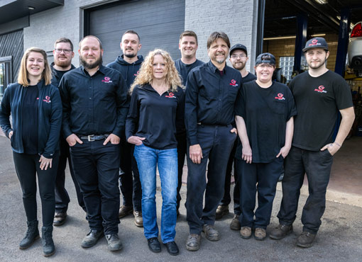 Glenshaw Auto Service Team Photo